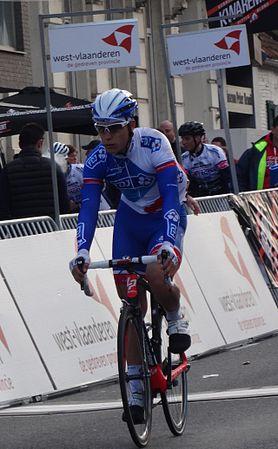 Harelbeke - Driedaagse van West-Vlaanderen, etappe 1, 7 maart 2015, aankomst (A59).JPG