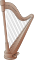 Harp Illustration.svg