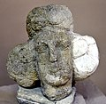 Head of an unidentified man, from Hatra, Iraq, 2nd-3rd century CE. The Sulaymaniyah Museum, Iraq.jpg