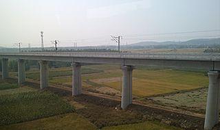 Hefei–Bengbu high-speed railway