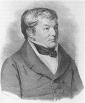 Heinrich Zschokke, 1842. (Quelle: Wikimedia)