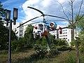 Helicopter monument near UTM - panoramio.jpg