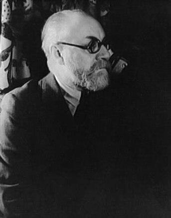 Henri Matisse photo taken by Carl Van Vechten