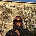 Henrietta Smith-Rolla (Afrodeutsche) Outside The Berghain.jpg
