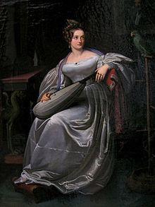 Henriette Sontag, Gemälde von Carl Christian Vogel von Vogelstein um 1830 (Quelle: Wikimedia)