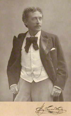 Henry Van der Weyde - Henry Van der Weyde in November 1891