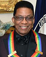 Photo of Herbie Hancock at the Kennedy Center Honors in December 2013.