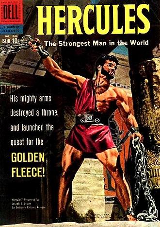 Hercules (1958 film) - Image: Hercules Comic Cover