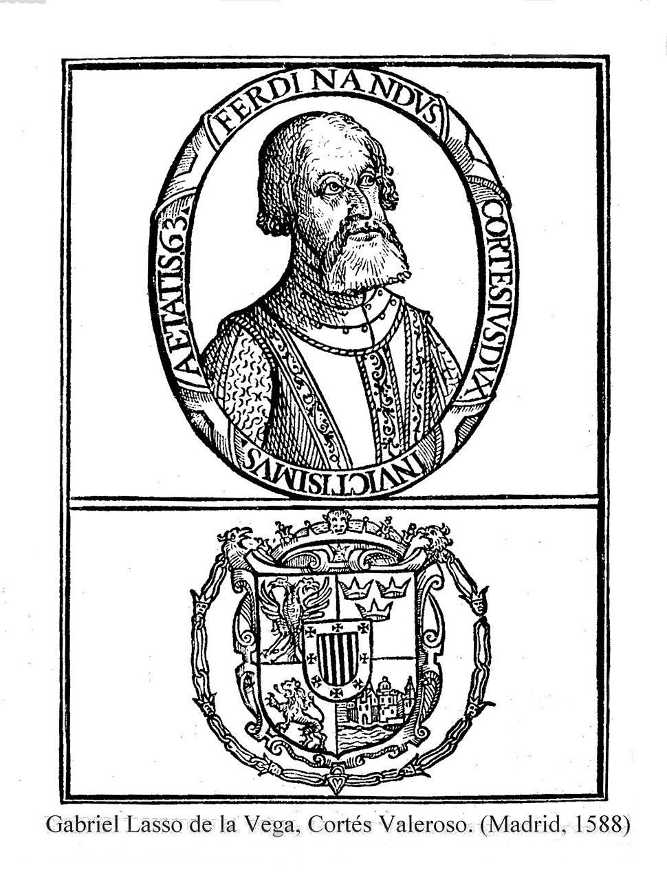 Hernando Cortes crest from Charles V