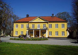 Hersbyholm - Hersbyholm manor in 2012.