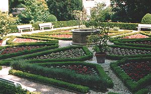Württembergisches Palais - The Renaissance garden in the Herzogspark, adjacent to Württembergisches Palais.