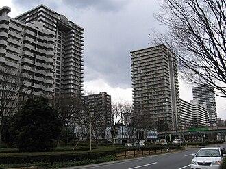 Nerima - A street in Hikarigaoka, Nerima