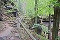 Hiking trail above the village of Hřensko 05.jpg