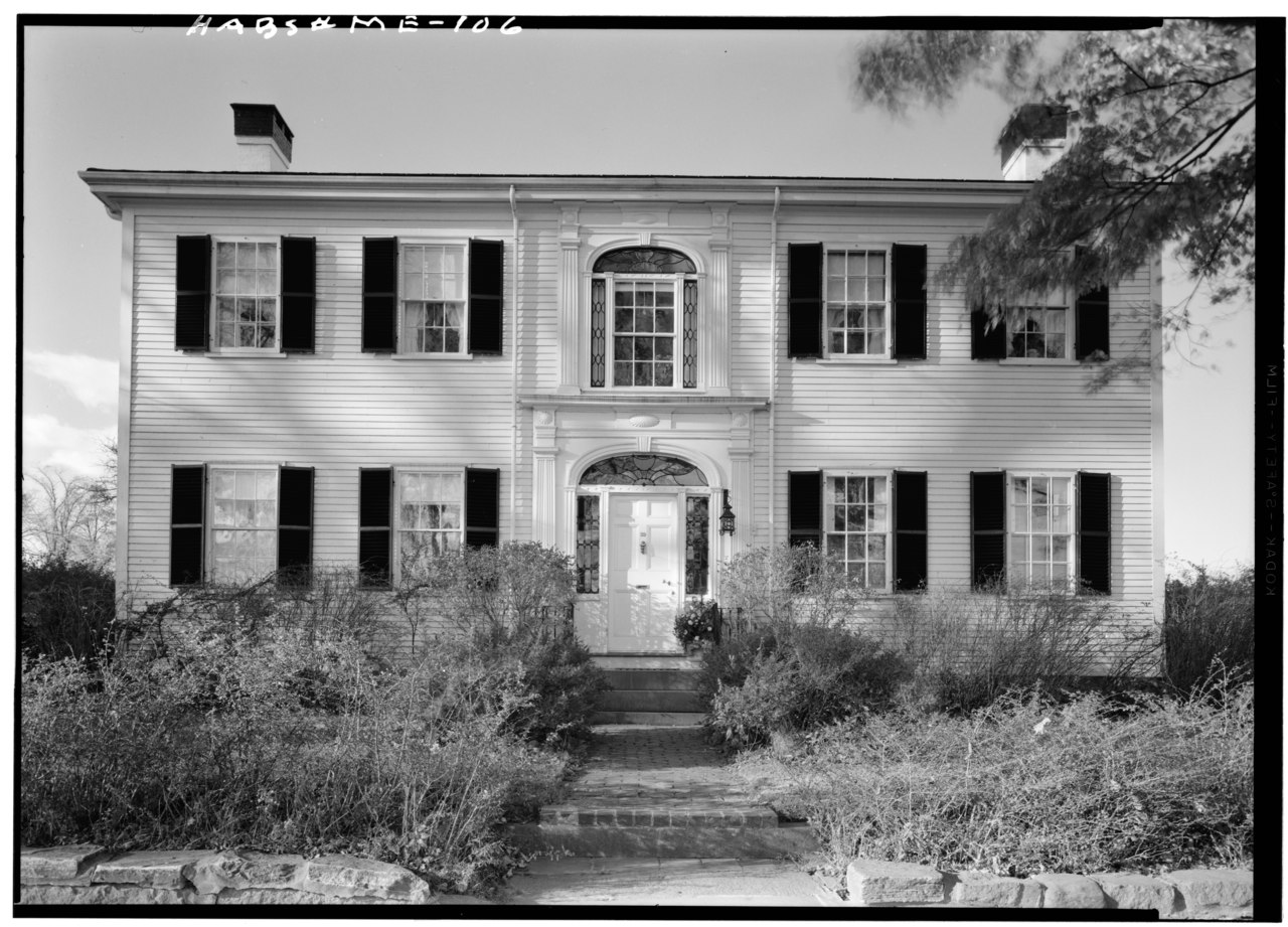 Victorian House Front Elevation : File historic american buildings survey cervin robinson