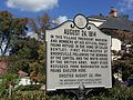 Historic Marker Brookeville Historic District.JPG
