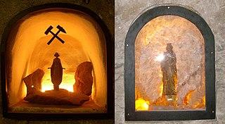 Wikipedia: Heilige Barbara im Bergbau