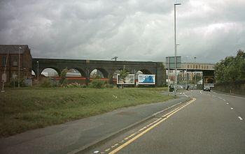 English: Holbeck Viaduct, Leeds
