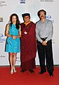 "Hollywood Actress, Michelle Yeoh and Executive Producer and His Holiness Gyalwang Drukpa of ""PAD YATRA, with the Director International Film Festival of India (IFFI), Shri Shankar Mohan on the Red Carpet.jpg"