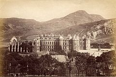 Holyrood from Calton Hill by James Valentine. 1878 or earlier..jpg