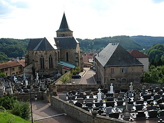 Collégiale Saint-Étienne (Hombourg-Haut) collegiate church located in Moselle, in France