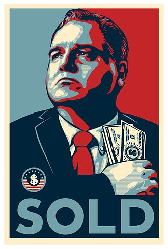 Frank L. Ridley - Honest Gil Fulbright SOLD Poster
