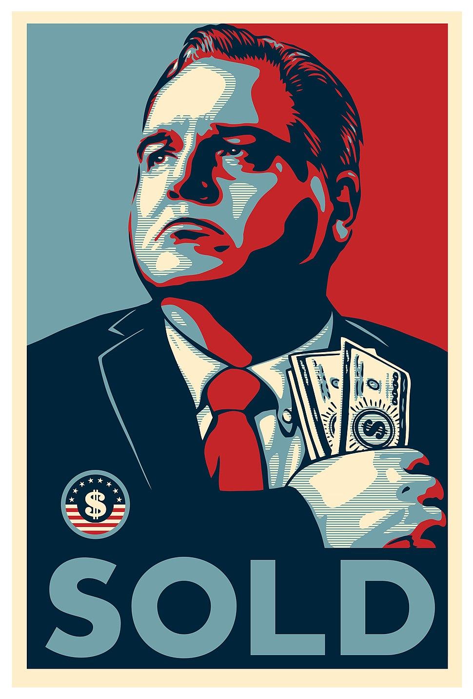 Honest Gil Fulbright SOLD Poster