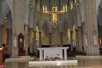 Cathedral of the Immaculate Conception (Hong Kong) - The main altar of the Cathedral