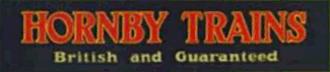 Meccano Ltd - Meccano Ltd's Hornby Trains branding.
