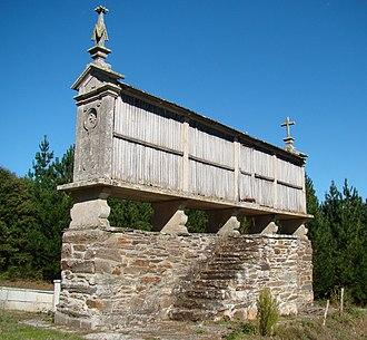 Hórreo - Hórreo in Galicia