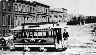 Charlotte L. Brown - Horse-drawn streetcar San Francisco 1860's