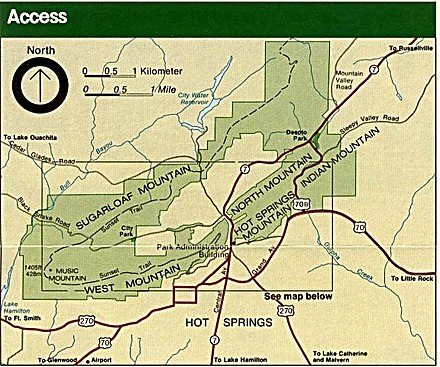 Hot Springs area park map Hot springs area map.jpg
