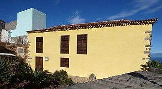 José Aguiar - The house of José Aguiar, Calle de la Seda, Agulo in 2016.