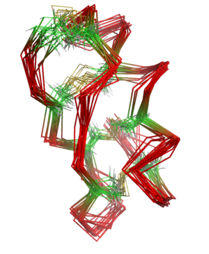 Maurotoxin - The protein NMR structure of HsTx1, a scorpion toxin with a canonical disulfide bond connectivity.
