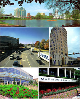 Huntsville, Alabama City in Alabama