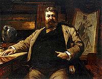 Hubert von Herkomer 1886 - Portrait of Henry Hobson Richardson.jpg
