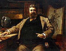 Hubert von Herkomer 1886 - Portrait of Henry Hobson Richardson.jpg