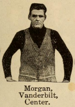 1912 Vanderbilt Commodores football team - Center Hugh Morgan