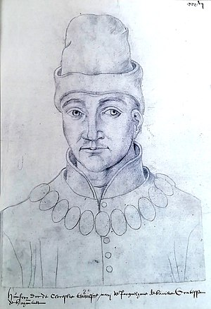 Humphrey, Duke of Gloucester - A fifteenth-century drawing of Gloucester