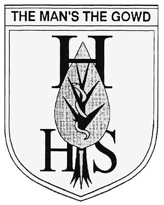Hunter High School, East Kilbride - Image: Hunter High School EK crest