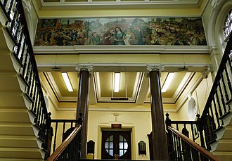 Hyde, Greater Manchester - Hyde Town Hall Interior