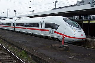 Siemens Velaro High-speed train model