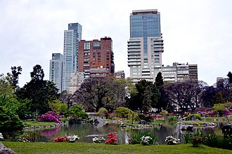 Palermo, Buenos Aires - The Japanese Gardens of the Palermo Woods.