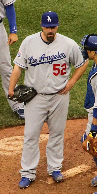 George Sherrill - Sherrill with the Los Angeles Dodgers