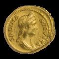 INC-1877-a Ауреус. Сабина. Ок. 128—136 гг. (аверс).png