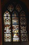 interieur, overzicht glas in loodraam, nummer 21 - schalkwijk - 20264837 - rce