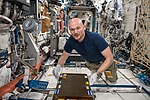 ISS-56 Alexander Gerst works in the Destiny module (5).jpg