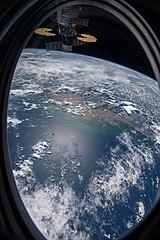 ISS-64 Amazon River, Brazilian coast.jpg
