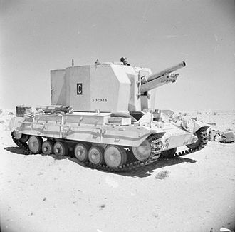 Bishop (artillery) - Bishop in the Western Desert, September 1942