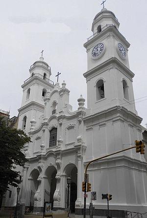 Saint Ignatius Church (Buenos Aires) - Image: Iglesia San Ignacio Baires