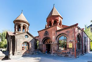 Kentron District - Zoravor Surp Astvatsatsin Church
